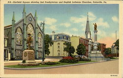 2Nd Presbyterian And English Lutheran Churches, Garfield Square