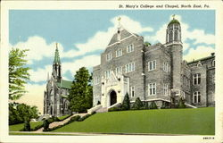 St. Mary's College And Chapel