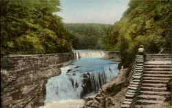 Lower Falls Genesee River, Letchworth State Park
