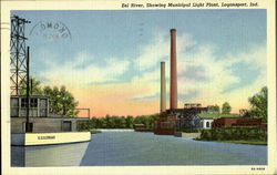 Eel River Showing Municipal Light Plant