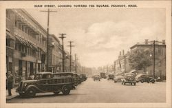 Main Street, Looking Toward the Square Postcard