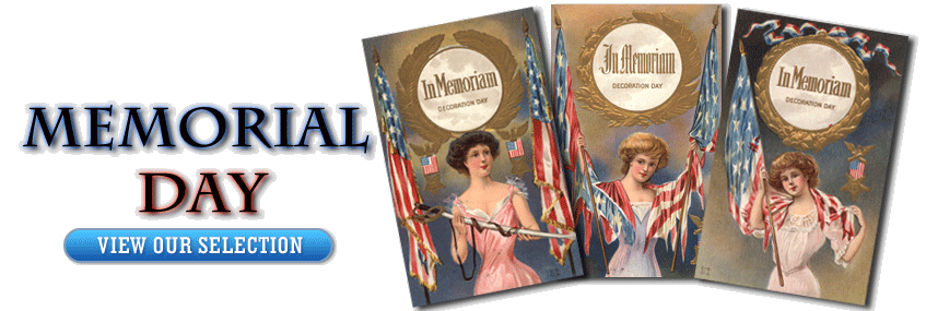 Antique Memorial Day Postcards