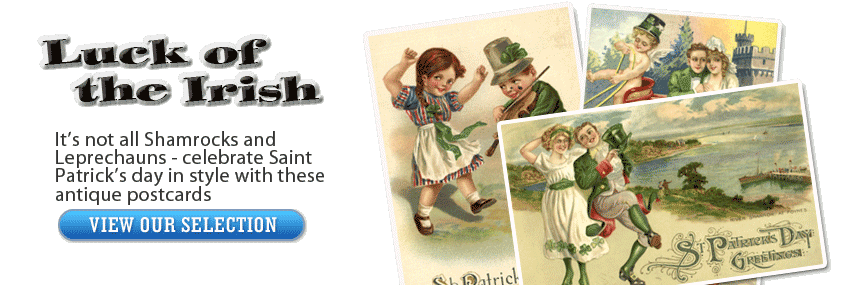 Saint Patrick's Day Vintage Postcards