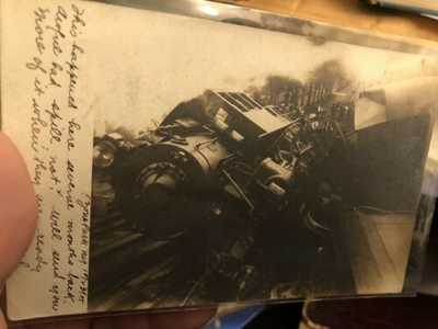 RARE RPPC 1915 Ozone Park LIRR Collision Queens NYC Razor Sharp