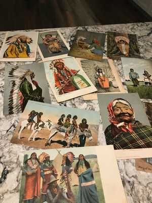 846 Antique postcards..American Indians..Chinatown..Alaska..States..Towns..1902