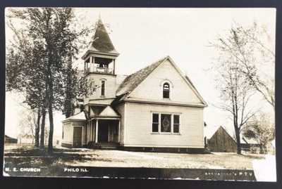 RPPC M.E. Church In Philo, Illinois. Champaign County