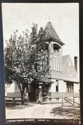 RPPC Presbyterian Church Sidney Illinois Champaign County Nice Stone Work