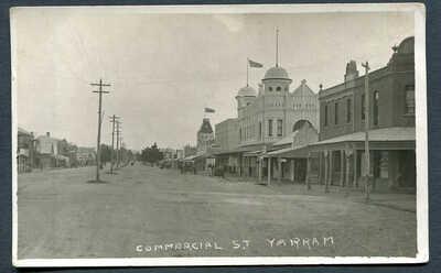 AUSTRALIA,VICTORIA,YARRAM,COMMERCIAL ST.,WOB,RP,