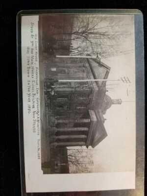 CA 1910 RPPC EVANSVILLE INDIANA ORIGINAL COURTHOUSE