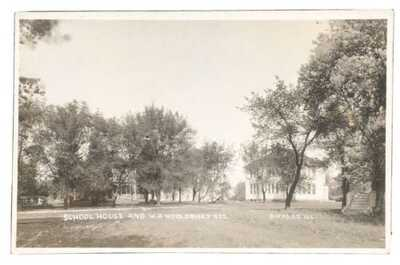 RPPC School House And W.A. Wooldrige Residence Gifford Illinois