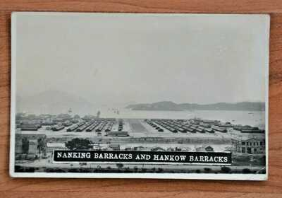 1932 Hong Kong photo Nanking Barracks and Hankow Barracks , Kowloon
