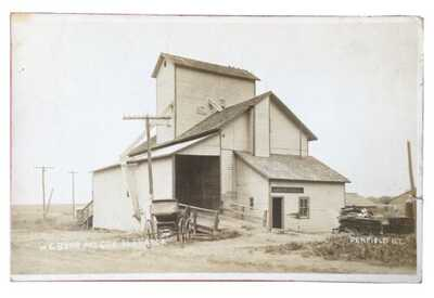 RPPC H.G. Bear And Company Elevator Penfield, Illinois Champaign County