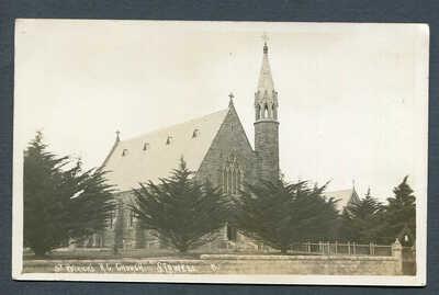 AUSTRALIA,VICTORIA,STAWELL,ST.PATRICKS R.C.CHURCH,UN,RP,PUB T.R.G.WILLIAMS NO.11