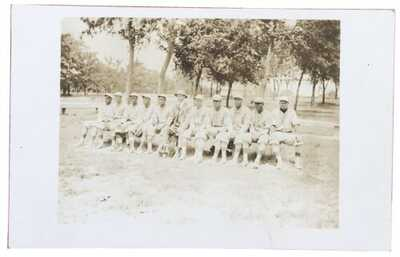 SUPER RARE Real Photo Postcard 1910 Chicago Union Giants Negro Baseball Team