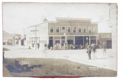 RPPC Business Section Mining Town. Goldfield,Nevada Hercules Powder Advertising