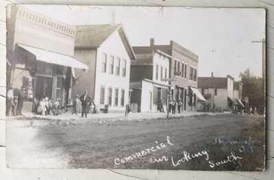RPPC Commercial Avenue Business Section Thomasboro, Illinois Champaign County