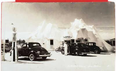 RPPC Iceberg Gasoline Service Station Albuquerque New Mexico