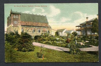 AUSTRALIA,VICTORIA,ST.MARY'S ROMAN CATHOLIC CHURCH,GEELONG,CP,WOB,