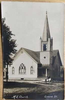 RPPC M.E. Church At Gifford Illinois Champaign County