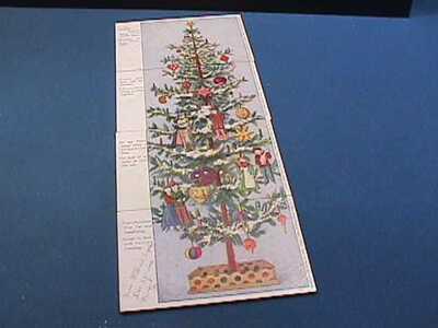 1906 FRANZ HULD 4 PART INSTALLMENT CHRISTMAS TREE SET