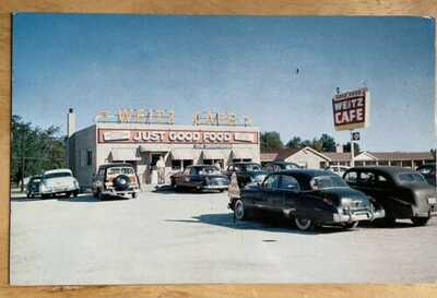 1955 L.L. Cook Weitz  Brothers Cafe On U.S. Route 66 At Braidwood, Illinois