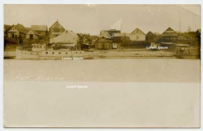 KNIK Alaska RPPC Postmarked December 14, 1913