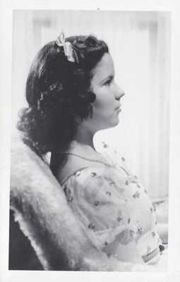 Shirley Temple Antique Vintage Real Photo Postcard 1930s