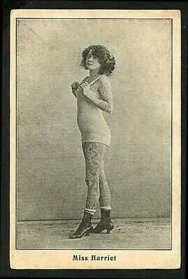 German 1920 TATTOOED Woman MISS HARRIET In Bathing Suit Tattoos ~ VASTA Archive