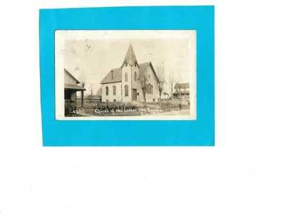 Vintage Photo Postcard-Church of the Latter Day Saints, Elk Mills, Maryland
