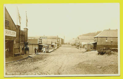 RPPC  Pacific Ave. Moclips WA Washington about 1910 REAL PHOTO POSTCARD
