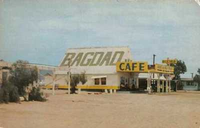 Needles California Bagdad Cafe Route 66 Vintage Postcard AA11695