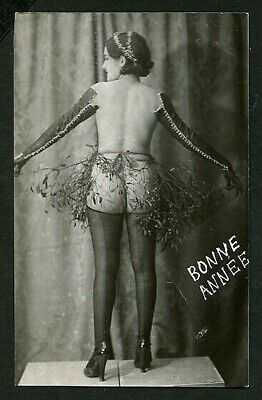 French 1920s YVA RICHARD Seductive Rear VIEW Leather GLOVES ~ VASTA Archives