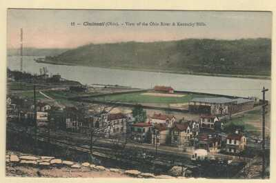 Baseball Stadium Pendleton Park East End Ball Park Cincinnati, OHIO OH MLB 1901