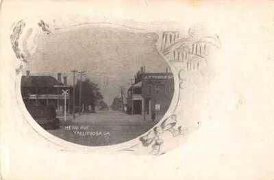 Tallapoosa Georgia Head Avenue Vintage Postcard AA24363