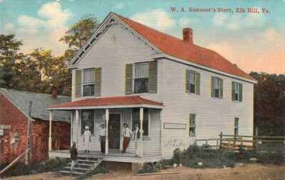 Elk Hill Virgina Goochland County W.A. Ransone's Store W.E. Burgess PC AA24596
