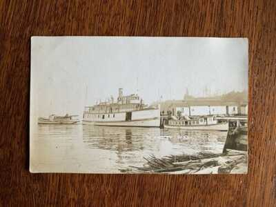 RPPC Langley WA ferry dock Steamer Whidby Whidbey Island mosquito fleet wharf