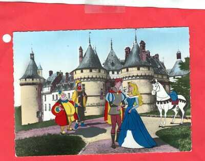 France Disneyland card  (528