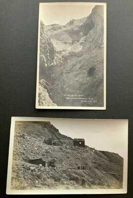 Real Photos Mines, Montgomery Shoshone, Pioneer Bullfrog District Nevada NV 1909