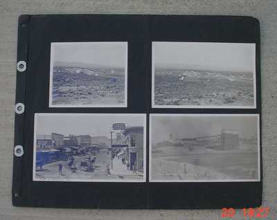 1907 Goldfield Real Photo A.E Holt 1908 Hornsilver Nevada 10 days old Ghost Town