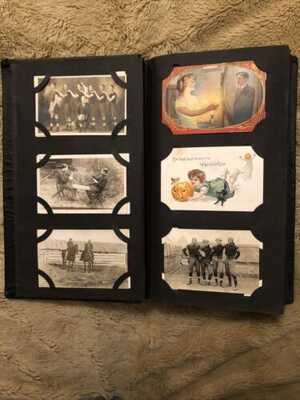 Large 300 +  Halloween, Rppc , Sports, Blk. American , Locations , Holidays