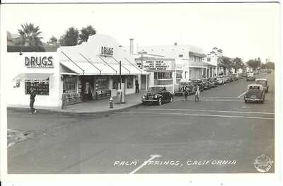 PALM SPRINGS, CALIFORNIA ~ Real Photo Postcard ~ Riverside County, CA