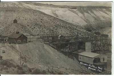 Mason Valley Mine, MASON, NEV. ~ c.1914 ~ Lyon County, Nevada