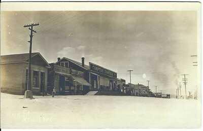 McGILL, NEV. ~ Street Scene ~ RPPC ~ c.1914 ~ White Pine County, Nevada