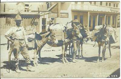 Goldfield Prospectors, GOLDFIELD, NEV. ~ c.1908 ~Esmeralda County, Nevada ~ RPPC
