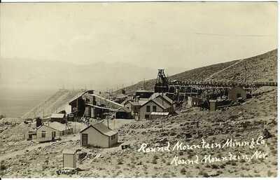 Round Mountain Mining Co., ROUND MOUNTAIN, NEV. ~ c.1907 ~ RPPC ~ Nye County, NV
