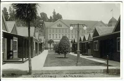 New Cottages, CAPITOLA, CAL. ~ Santa Cruz County, California ~ RPPC