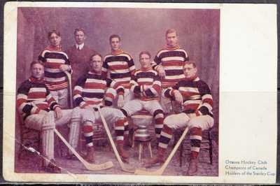 Hockey, Champions of Canada, Ottawa Hockey Club, Holders of Stanley Cup