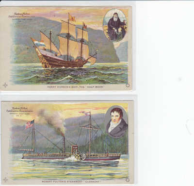 Hudson Fulton Exposition Postcards