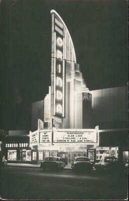 RPPC Orinda Theater,CA Contra Costa County Real Photo Post Card California