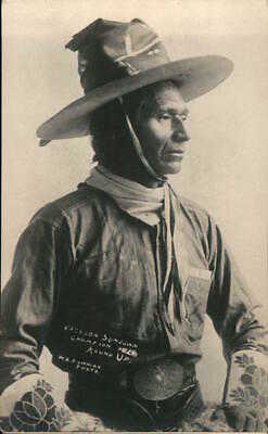 Native American RPPC Bowman Jackson Sundown,Pendleton Round-Up Champion 1916,OR
